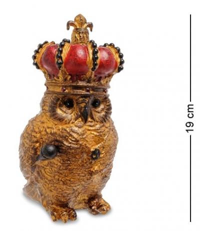 сова в короне 19см