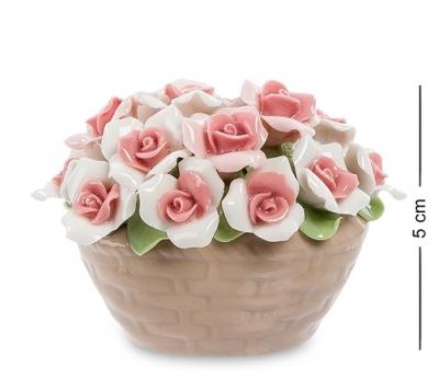 композиция корзинка роз (pavone)