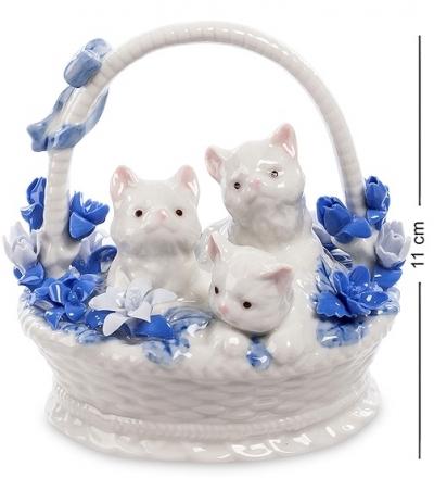 фигурка котята в корзинке (pavone)