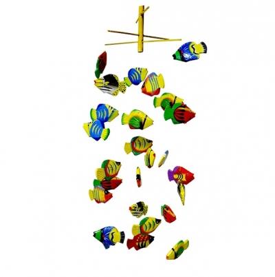 аквариум воздушный рыбки 27шт разноцветный