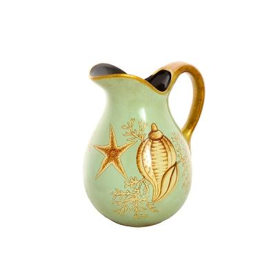 ваза-кувшин морская ракушка