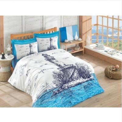 постельный комплект 2сп lighthouse mavi