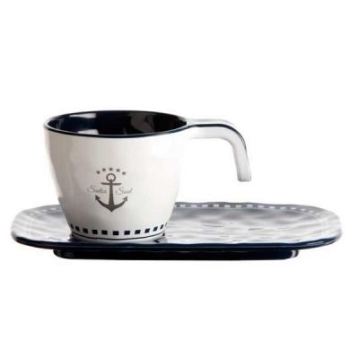 кружки кофейные sailor soul, 6шт