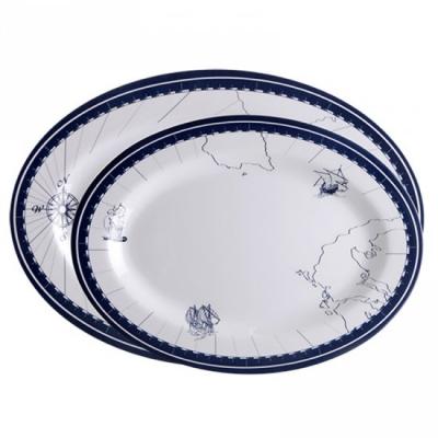 сервировочные тарелки columbus  2 шт.
