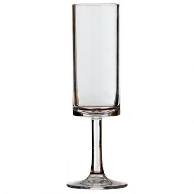 набор бокалов для шампанского прозрачные columbus , 6 шт.