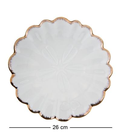 десертная тарелка круглая морская ракушка (pavone)