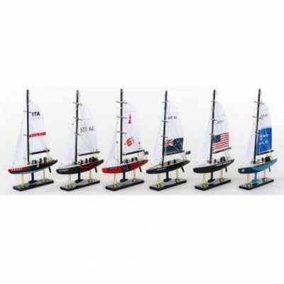 яхта кубок америки 33см