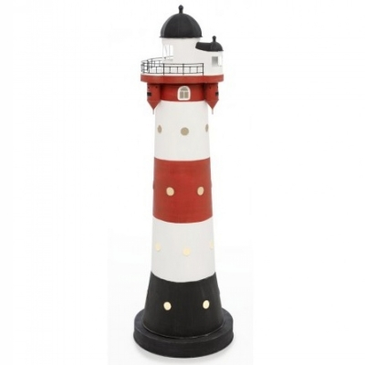 маяк-светильник roter sand 43см