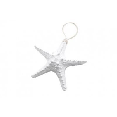 подвесная морская звезда 21см белая