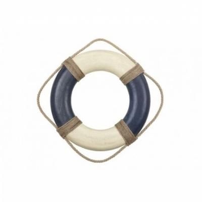 спасательный круг синий 35см