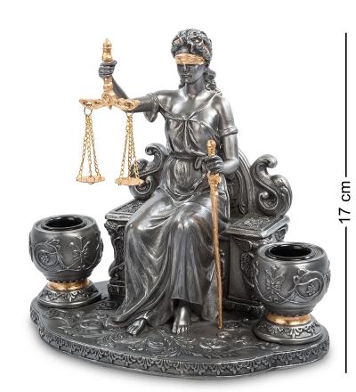статуэтка-подсвечник фемида (veronese)