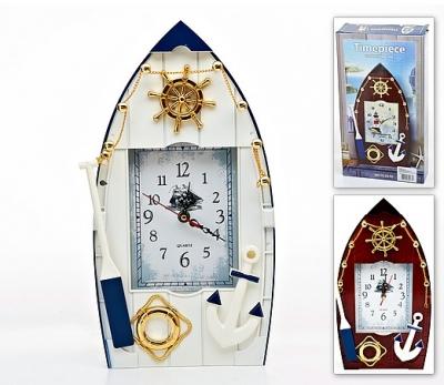 часы настеные лодка