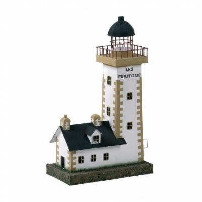 маяк-светильник белый/бежевый/черный 43см