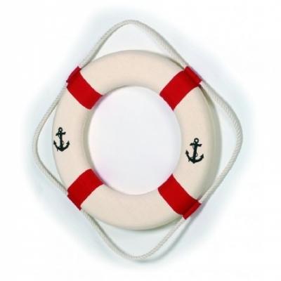 спасательный круг красный 82см