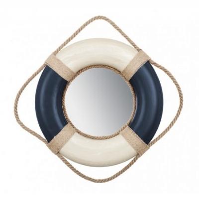 зеркало - спасательный круг синий 35см