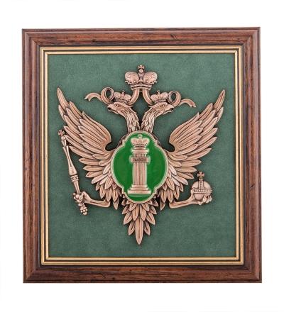 панно эмблема министерства юстиции рф