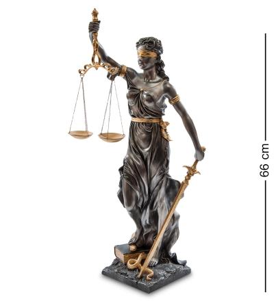 статуэтка фемида - богиня правосудия (veronese)
