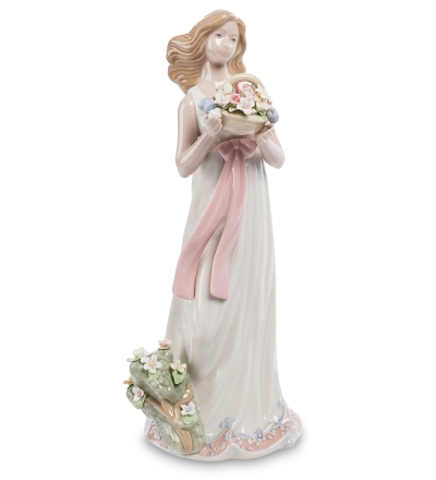 статуэтка девушка с цветами (pavone)