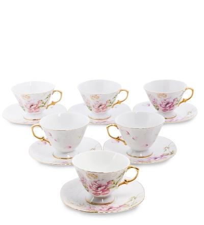 чайный набор фиор де парадис на 6 персон (pavone)