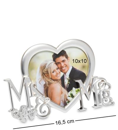 фоторамка мистер и миссис для фото 10*10см