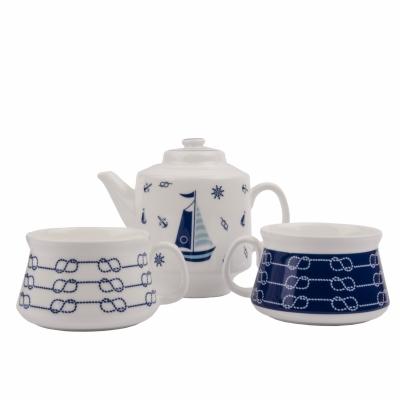 чайный набор парусник