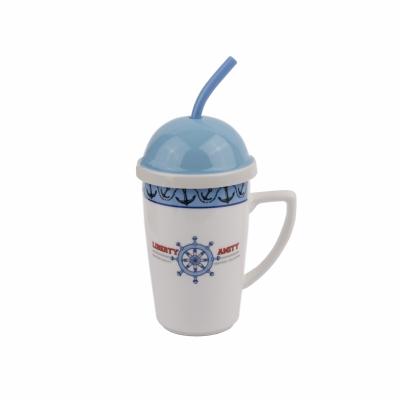 чашка с крышкой штурвал