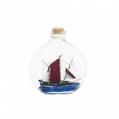 корабль в бутылке 12,8см