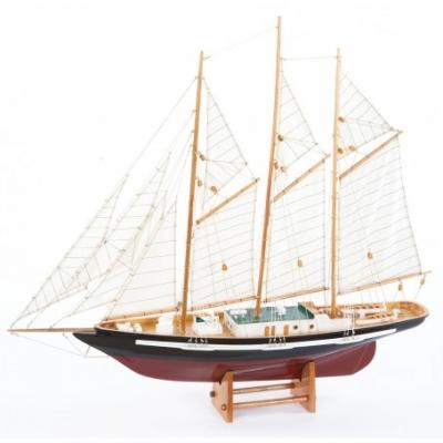 яхта трехмачтовая 80см