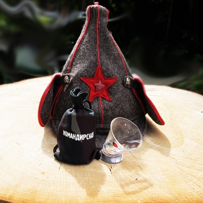 пьяная рюмка командирская