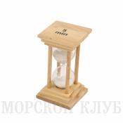 часы песочные белые 5мин