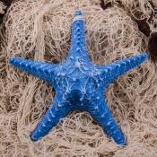 Подвесная Морская звезда 21см голубая