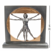 """статуэтка """"витрувианский человек"""" (леонардо да винчи)"""