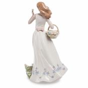 статуэтка девушка с корзинкой (pavone)