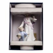 статуэтка ангел с мальчиком (pavone)