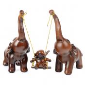 Статуэтка Три слона и качели
