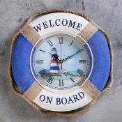 Часы-спасательный круг Маяк 30см
