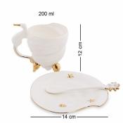 чайная пара морская ракушка (pavone)
