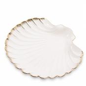 десертная тарелка морская ракушка (pavone)