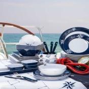 скатерть с тефлоновой пропиткой northwind 155*130см(marine business)