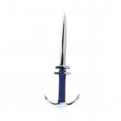 Нож для конвертов Якорь серебро
