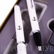 набор с чехлом ручка роллер и шариковая ручка parker im core