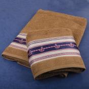Набор полотенец Якорь в подарочной коробке №3