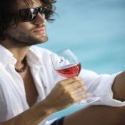 бокалы прозрачные нескользящие винные welcome on board, 6 шт