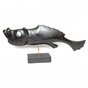 Фигурка рыбы интерьерная