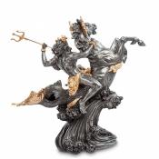 Статуэтка Посейдон - Бог морей 30см (Veronese)