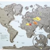 стирательная карта магнит