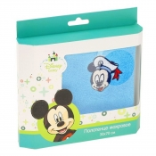 Подарочная коробка детское махровое полотенце с Микки Маусом