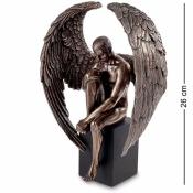 Статуэтка Ангел-мужчина на кубе