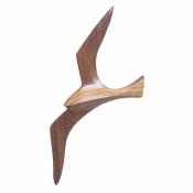 Фигурка чайки дерево декор 25см