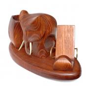 Письменный набор с фигуркой слона